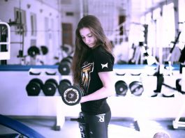 women fitness gym